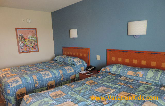 Rooms at Disney's Pop Century Resort offer comfortable surroundings at a value price