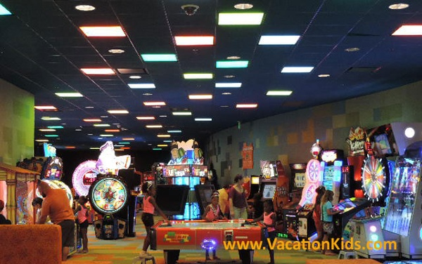 The Pixel Play arcade is a favorite of guests staying at Disney's Art Of Animation Resort