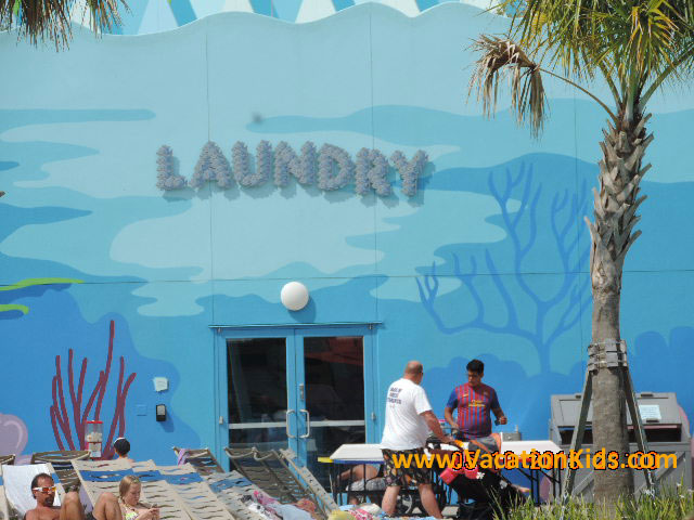 Families have access to full laundry facilities at Disney's Art Of Animation Resort