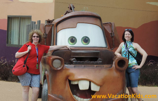 Vacationkids checks out the Disney's Art Of Animation Resort