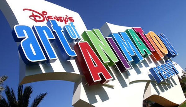 Welcome to Disney's Art Of Animation Resort!