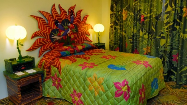 Master bedrooms at Disney Art Of Animation Lion King Lion King Family Suites will make you feel like you stepped into the Lion King Movie