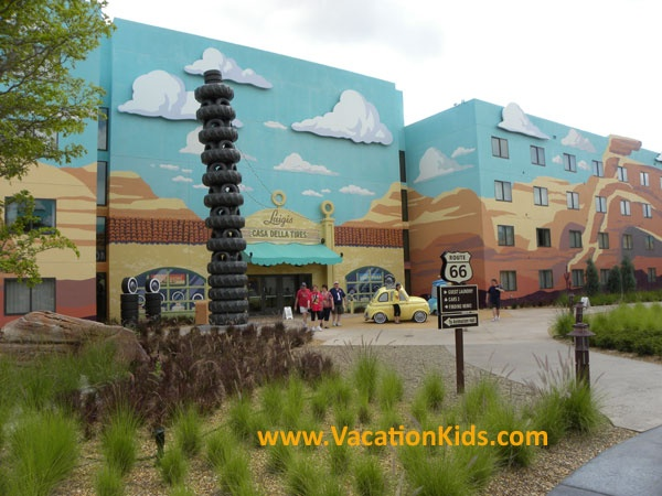 Welcome to Radiator Springs at Disney's Art of Animation Car Suites