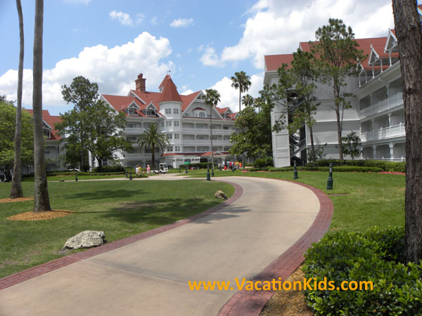 Enjoy lush and lavish grounds of Disney's Grand Floridian Resort