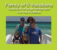 Family of 5 resorts in Cancun