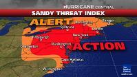 hurricane Sandy flight delays