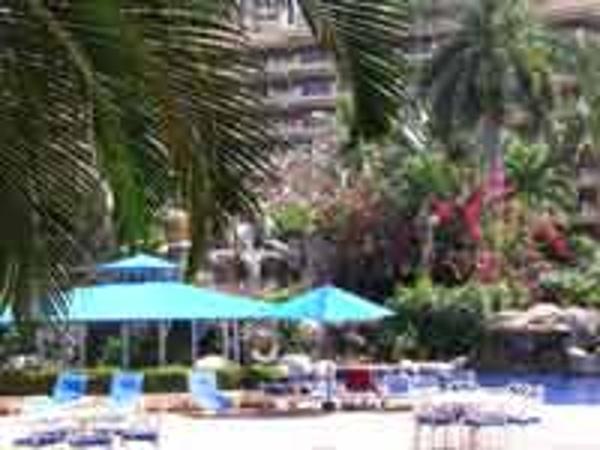 Enjoy the sun or shade at the Barcelo Puerto Vallarta pool