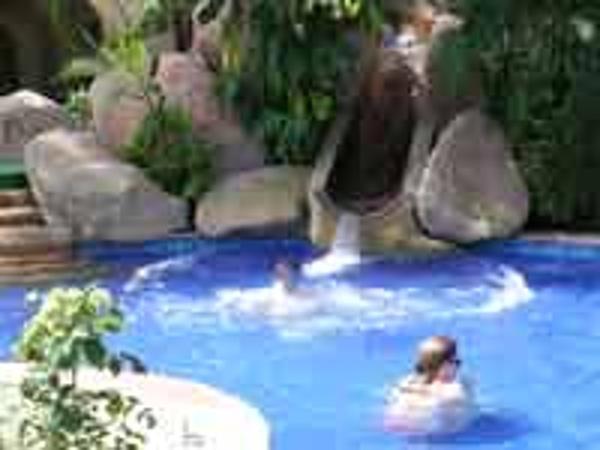 Kids pool slide at the Barcelo Puerto Vallarta