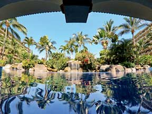 Swim in lush tropical pools at Barcelo Puerto Vallarta
