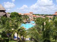 Sandos Playacar Beach Resort & Spa offers lush surroundings for the perfect all inclusive family vacation