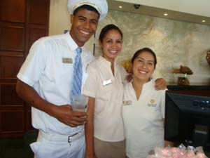The Sandos Playacar Beach Resort & Spa staff are ready and waiting for your arrival. They are truly what makes this resort very special.