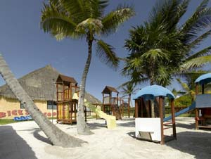 There are plenty of fun activities to keep the kids busy at the Grand Palladium Colonial