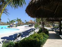 Sun or shade? It's your choice at the Grand Palladium Colonial pool