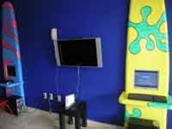Video games at the Oasis Palm Cancun kids Club