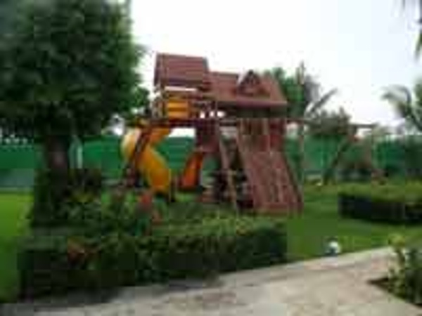 Play ground at the Oasis Palm Cancun Kids Club