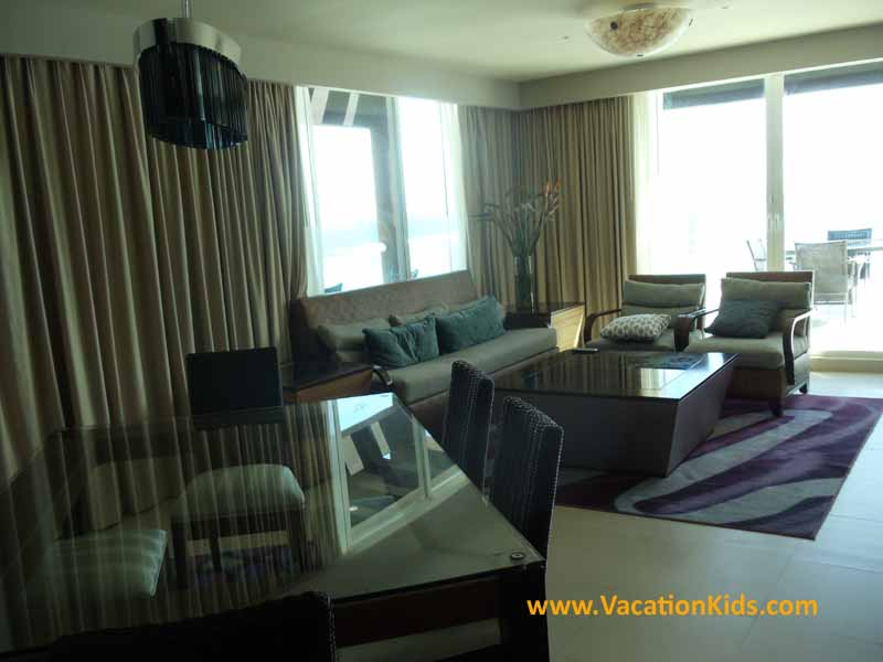 The Rock Star Suite at Hard Rock Cancun Hotel all inclusive family resort