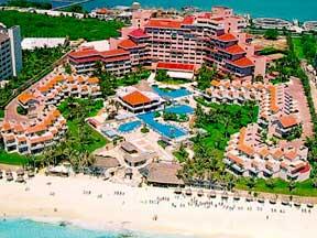 Omni Cancun Hotel and Villas view of entire resort