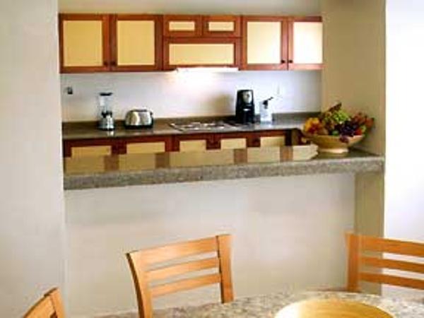 Omni Cancun Villas kitchen