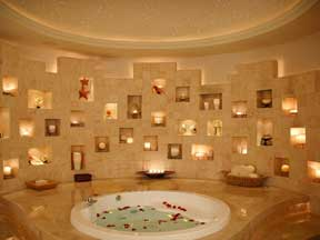 View of the Spa at the Great Parnassus Cancun