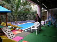 Crown Paradise Hotel baby club splash pool in Cancun by vacationkids