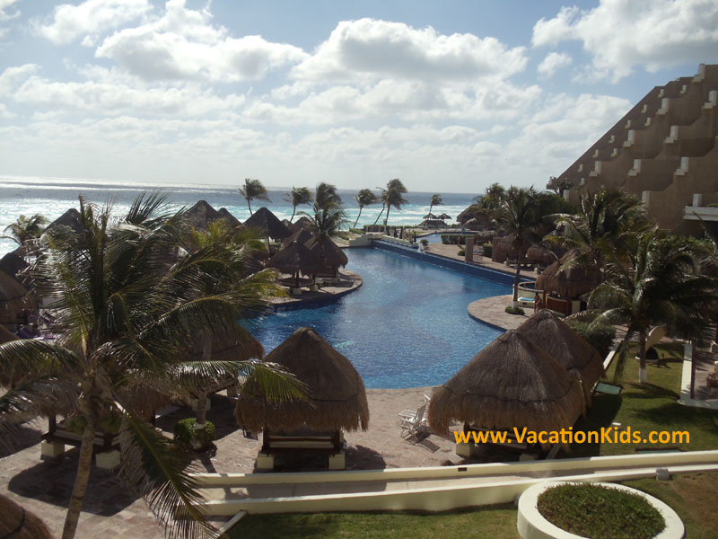 Paradisus Cancun pool view...picture your family here.