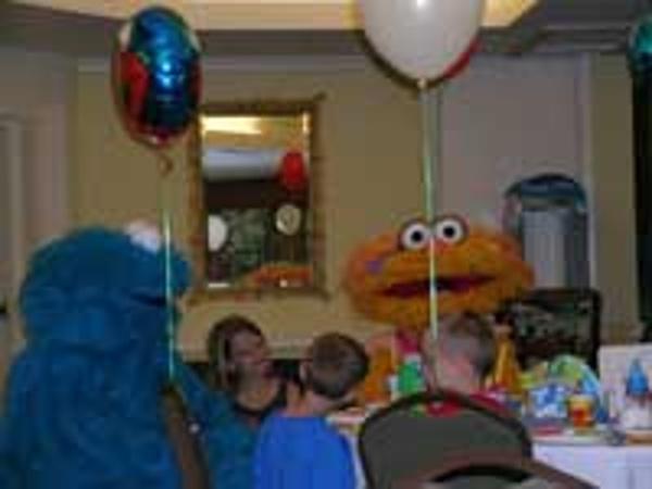 Fun Sesame Street character breakfast at Beaches Turks & Caicos
