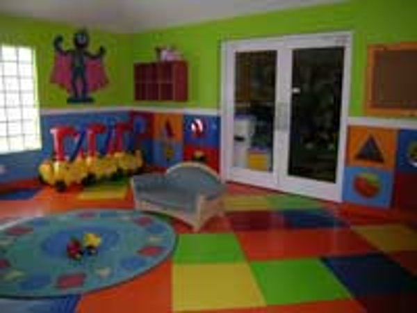 Colorful, fun playrooms at Beaches Turks & Caicos are often visited by Sesame street characters.