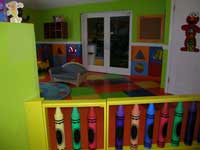Babies & toddlers can enjoy their own safe, air conditioned play areas at Beaches Turks & Caicos