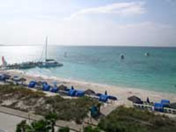 One of the world's best beaches at Grace Bay which is home to Beaches Turks & Caicos Resort