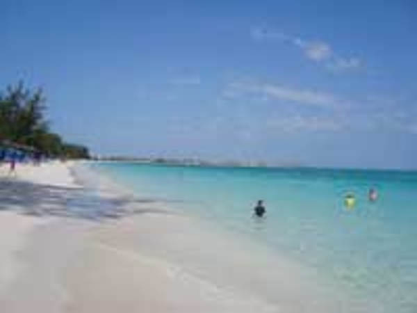 White sand & crystal clear blue water...no seaweed, no rocks at Beaches Turks & Caicos