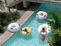 Your family can relax and refresh at the lazy river at Beaches Turks & Caicos Resort