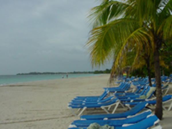 Beaches Negril sits on Jamaica's famous 7 mile beach.