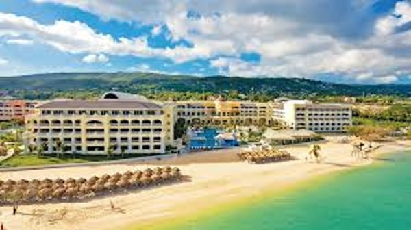 Resort view of Iberostar Rose Hall Beach All Inclusive family resort