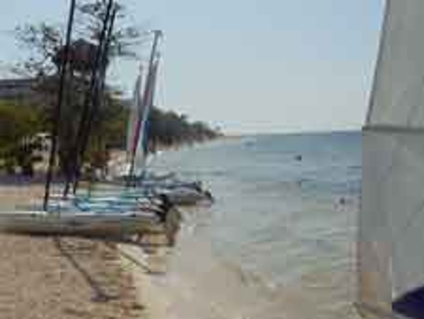 The Iberostar Rose Hall Beach Resort offers families plenty of fun non motorized water sport activities