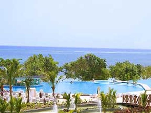 Main pool area at Iberostar Rose Hall Beach Resort Jamaica