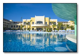View of main lobby area at Iberostar Rose Hall Beach Resort Jamaica