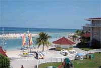 Activities beach at Holiday Inn Montego Bay all inclusive family resort in Jamaica