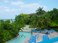 Pool for your family at Holiday Inn Montego Bay Jamaica