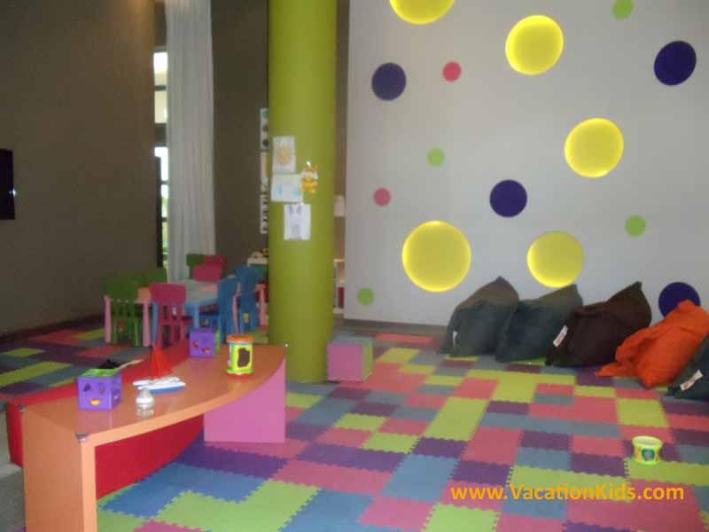 Baby club for children ages 1-4 at the Paradisus La Esmeralda all inclusive family resort
