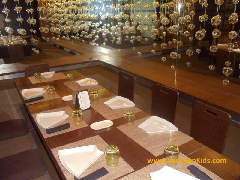 14 restaurant choices at the Paradisus la Esmeralda resort