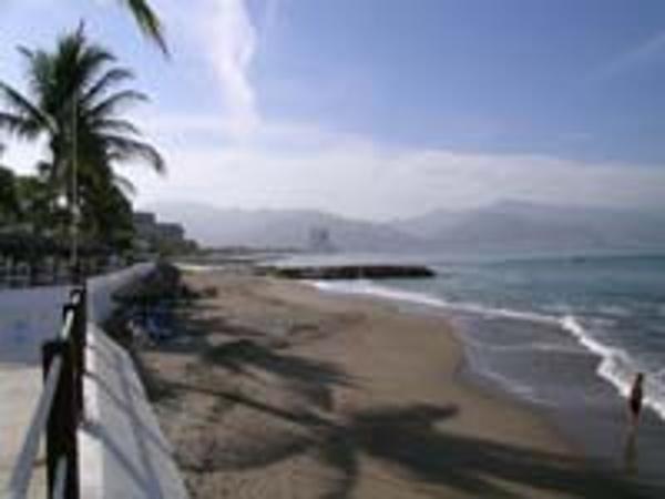 Beach at the Melia Puerto Vallarta