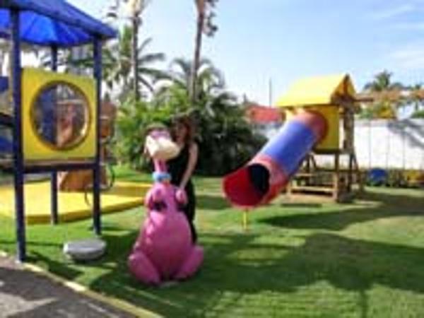 Kids playground at the Melia Puerto Vallarta