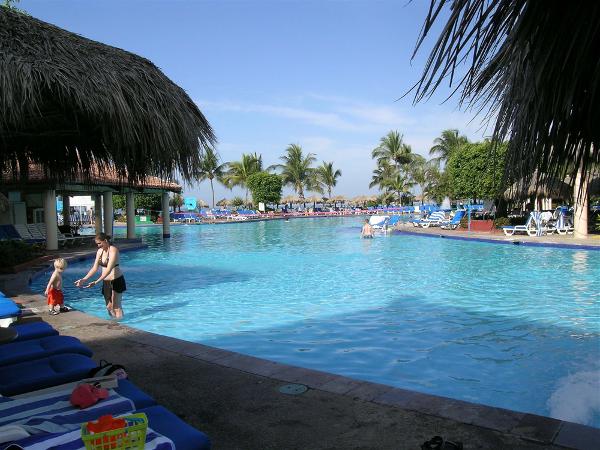 family pool at the Melia Puerto Vallarta