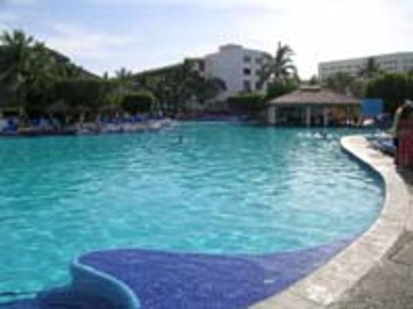 Pool bar at the Melia Puerto Vallarta resort