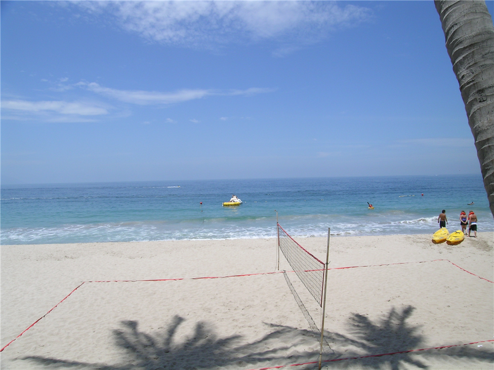 Volleyball anyone at Dreams Puerto Vallarta