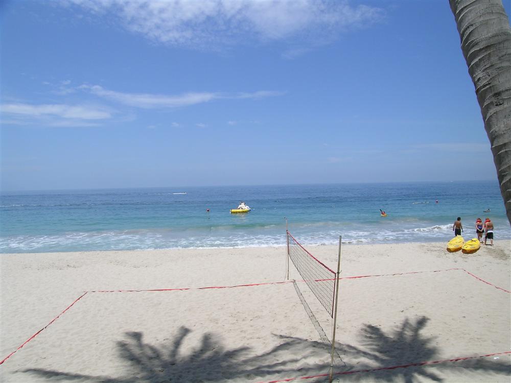Volleyball anyone at Dreams Puerto Vallarta