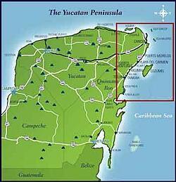 Where is the Riviera Maya?