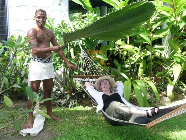 斐济隐居亲子游度假村